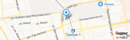 Автоковрик68 на карте Тамбова