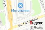 Схема проезда до компании ПитCтоп в Тамбове