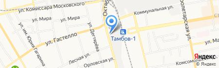 Авто-Лэнд на карте Тамбова