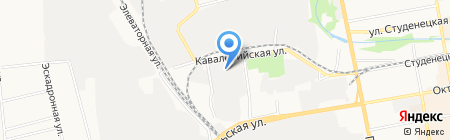 АЗС Сервис-Т на карте Тамбова
