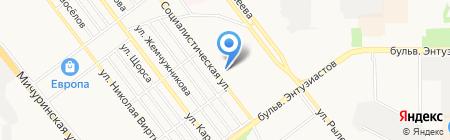 Средняя общеобразовательная школа №31 на карте Тамбова