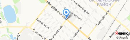 Магазин цветов на ул. Мичуринская на карте Тамбова