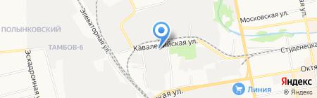 Отделение почтовой связи №37 на карте Тамбова