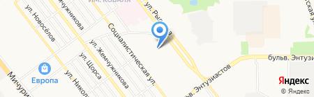 Тамбовская инженерная компания на карте Тамбова