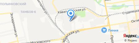 Maxim на карте Тамбова