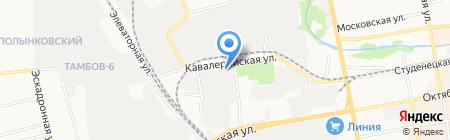 Hyundai на карте Тамбова