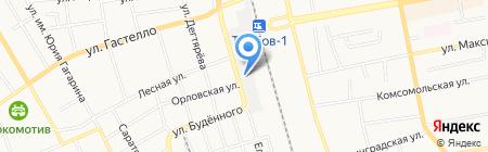 Магазин погонажных изделий на карте Тамбова