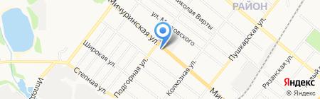 ЛОМБАРД-ЗЕНИТ на карте Тамбова