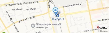 Стройцентр 68 на карте Тамбова
