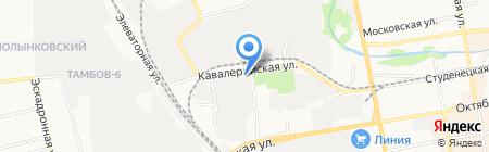 Славянская на карте Тамбова