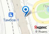 Тамбовский линейный отдел Министерства внутренних дел Российской Федерации на транспорте на карте