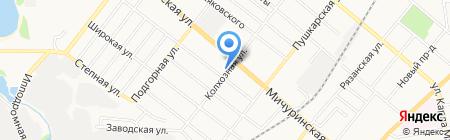 АвтоТехМас на карте Тамбова