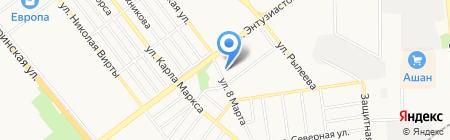 Строительный колледж на карте Тамбова