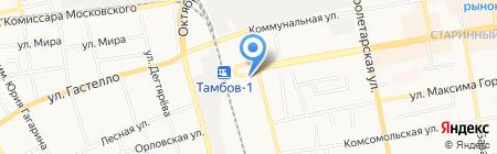 Марципан на карте Тамбова