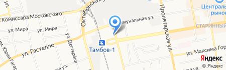 Сапфир на карте Тамбова