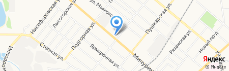 Лавка чудес на карте Тамбова