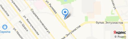 Сакура на карте Тамбова