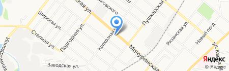 Водпроект-Тамбов на карте Тамбова
