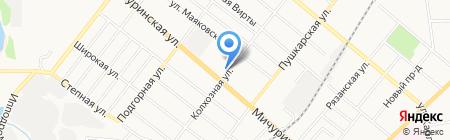 Служба ремонта стиральных машин на карте Тамбова