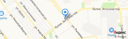 Магазин мясных изделий на карте Тамбова