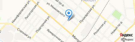 Транспортно-погрузочная компания на карте Тамбова