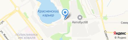 Тамбовинвестсервис МУП на карте Тамбова