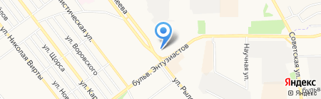 Сантехника на карте Тамбова