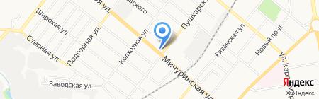 Ева на карте Тамбова