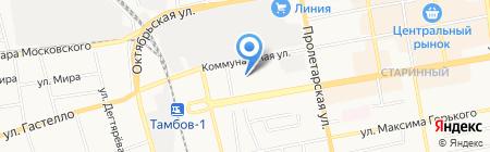 Мастерская на карте Тамбова