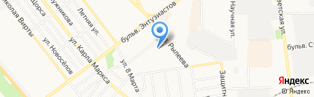 ТГУ на карте Тамбова