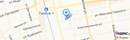 Управление по взаимодействию с органами местного самоуправления на карте Тамбова