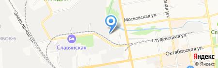 Завод подшипников скольжения на карте Тамбова