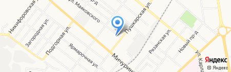 Sweet bakery на карте Тамбова