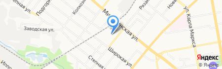 Тамбовагропромкомплект на карте Тамбова