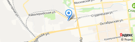 Агродеталь-сервис на карте Тамбова