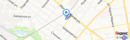 Газпроект-Т на карте Тамбова