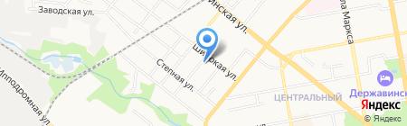 Шиномонтажная мастерская на ул. 2-я Линия на карте Тамбова