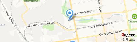 Мир автостекол на карте Тамбова