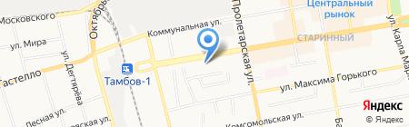 Банкомат Росгосстрах Банк на карте Тамбова