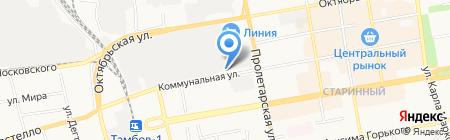 ТамбовЦентрРегион на карте Тамбова