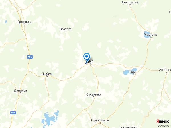 деревня Игумново на карте
