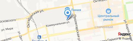 АКБ Тамбовкредитпромбанк на карте Тамбова