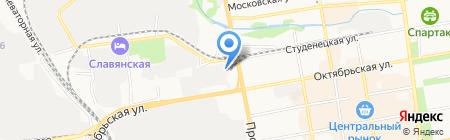 Дженсер-Тамбов на карте Тамбова