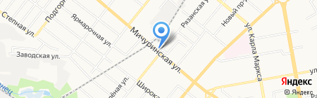Натали-Арт на карте Тамбова