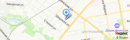 ДОСААФ России Тамбовской области на карте Тамбова