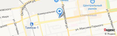 Эталон на карте Тамбова