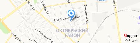 Детский сад №68 Яблонька на карте Тамбова