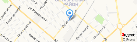 ИТЭМ на карте Тамбова