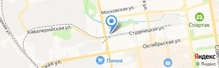 Кореан-Т на карте Тамбова