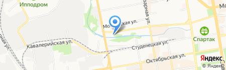 Шиномонтажная мастерская на Студенецкой набережной на карте Тамбова